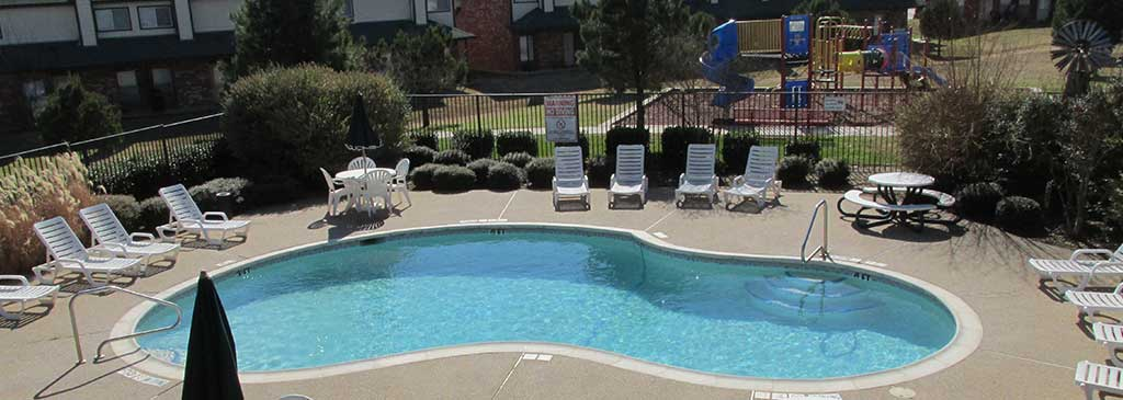 Gated Swimming Pool and Play Area